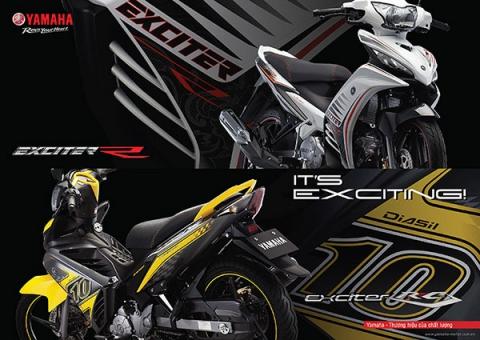 Yamaha Việt Nam giới thiệu YAMAHA EXCITER 2013